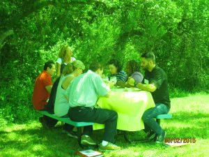 HCH picnic class 2 5-1-15 to 5-3-15